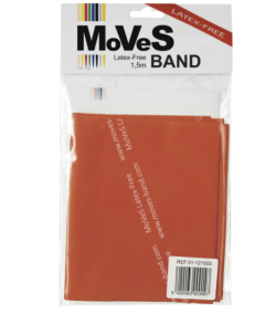 MoVeS Latex-Free Exercise Resistance Bands - 1.5m