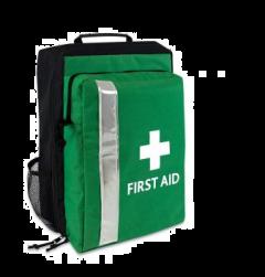First Aid Rucksack - Green - Empty