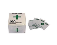 Alcohol Free Cleansing Wipes (Pack of 100)