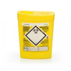 Portable Sharps Container 300ml - YELLOW