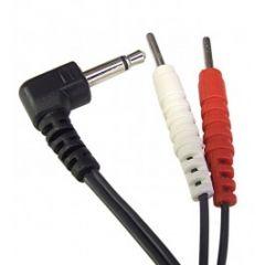 2mm Pins Lead To 2.5mm Jack Plug TENS Lead