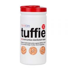 Tuffie Hard Surface Disinfectant Wipes (200 Wipes) 70% Alcohol