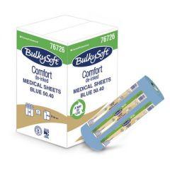 "Bulysoft Premium Medical Couch Rolls 20"" Blue (9)"