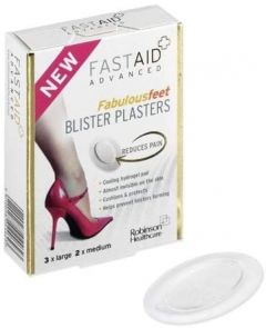 Fast Aid Advanced Fabulous Feet Blister Plasters