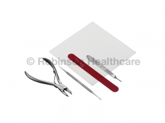 Instrapac Podiatry Basic Emery Pack Curved Roller Spring Nail Cutter