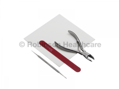 Instrapac Podiatry Assistants Emery Pack Curved Roller Spring Nail Cutter