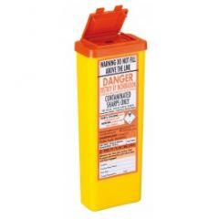Sharps Container 0.5 Litre-Orange Lid