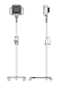 Aculamp TDP Infrared Heating Lamp - Large Head