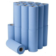 """Blue Couch Roll 10"""" Recycled (24 Rolls Per Case)"""