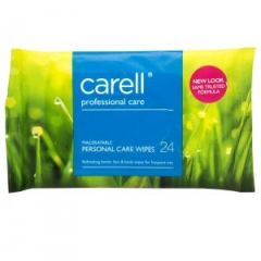 Clinell Carell Patient Hand & Face Wipes (Pack of 24)