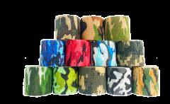 Inksafe Camouflage Colours Cohesive Bandages 5cm x 4.5m (Box of 12)