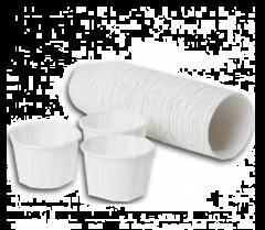 Caretex Waxed Paper Medicine Pot 28ml (Pk 250)