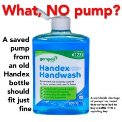 Handex Handwash Soap 500ml - Alcohol Free