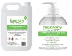 Harmony Medical Hand Sanitiser Gel