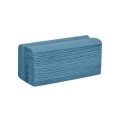 Blue C-Fold Hand Towel - 1ply  (Case 2520)