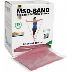 Moves Exercise Band Dispenser 25 x 1.5 Meter Bands
