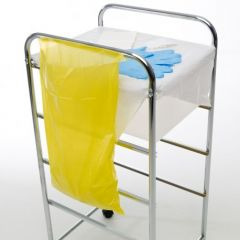Yellow Clinical Waste Disposable Bags x 200