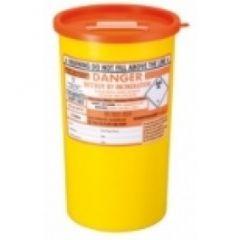 Sharps Container 5 Litre-Orange Lid