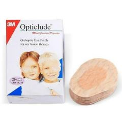 3M Opticlude Standard Orthoptic Eye Patches - (Box of 20)