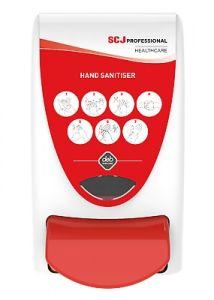Cutan Red Hand Sanitiser Dispenser 1 Litre