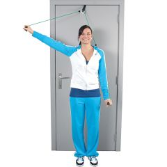 MoVeS Shoulder Rope Pulley Door Anchor - Notch Handles - Stoppers