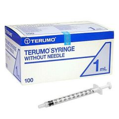 Terumo Syringe 1ml (Box Of 100)