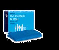Masterchef Blue Triangular Bandage