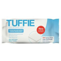 Tuffie Large Detergent Flow Wrap Wipes (100 Pk)