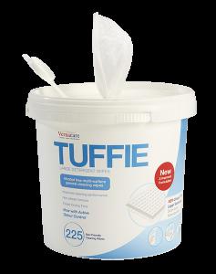 Tuffie Detergent wipes - Bucket (225 wipes)