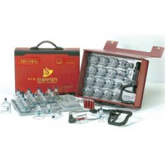 Hand Pump Plastic Cupping Set (19 Cups + 10 Magnets)