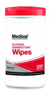 Medipal 70% Alcohol Surface Wipes (240 Tub)