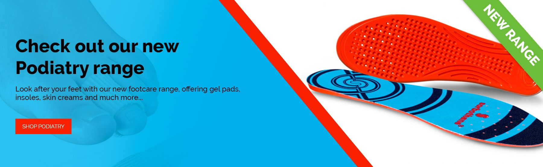 Check out our new Podiatry range